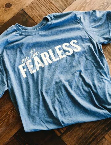 """We The Fearless"" Tee"